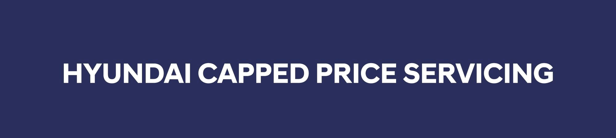 Hyundai Capped Price Servicing